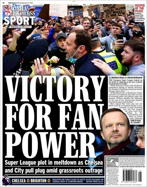 European Super League: Το διπλό πρωτοσέλιδο της Marca και η κατακραυγή για την ESL