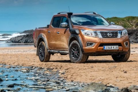 Nissan volunteers its toughest pickup to help tackle plastic pollution on Europes most remote beaches