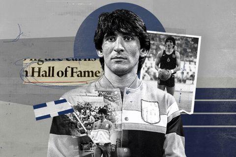 Ο Παναγιώτης Γιαννάκης στο Hall of Fame της FIBA