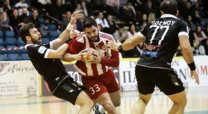 Κύπελλο χάντμπολ ανδρών: Στον τελικό Ολυμπιακός και ΑΕΚ