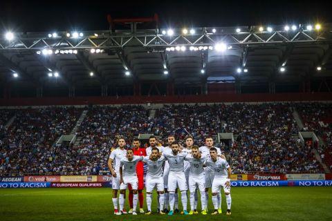 ÐÑÏÊÑÉÌÁÔÉÊÁ ÐÁÃÊÏÓÌÉÏÕ ÊÕÐÅËËÏÕ / ÅËËÁÄÁ - ÅÓÈÏÍÉÁ / WORLD CUP PRELIMINARY / GREECE - ESTONIA (LATO KLODIAN / EUROKINISSI)
