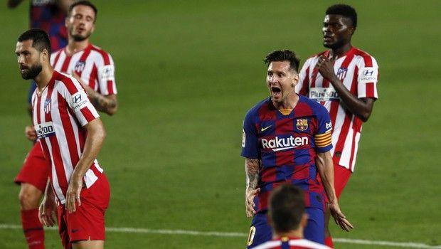 Μπαρτσελόνα - Ατλέτικο Μαδρίτης 2-2: Δώρο τίτλου από