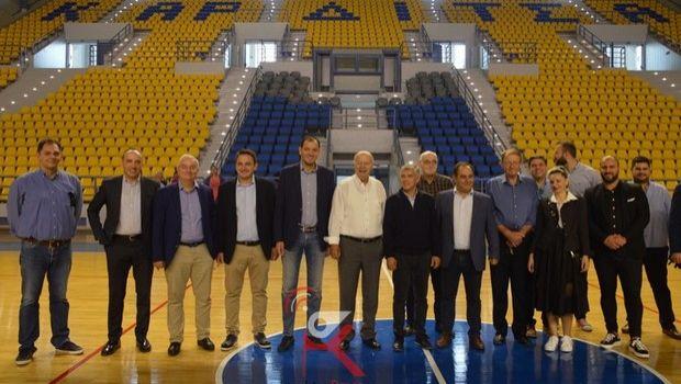 Σε λειτουργία το εντυπωσιακό νέο κλειστό γήπεδο της Καρδίτσας