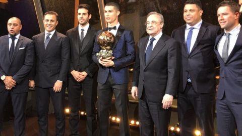 Χρυσή Μπάλα: Ο Ρονάλντο ισοφάρισε τον Μέσι