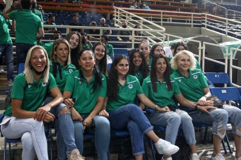 Η γυναικεία ομάδα μπάσκετ του Παναθηναϊκού είδε τον τελικό με το Λαύριο /3-6-2021