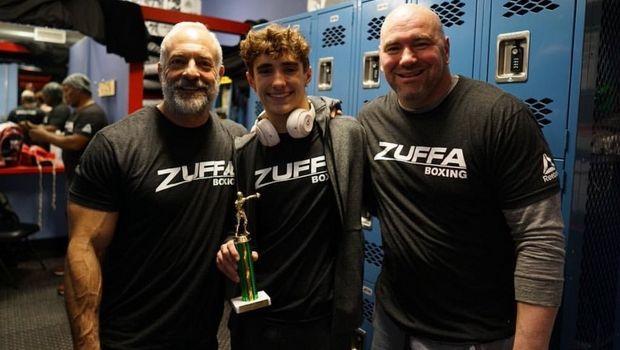 Νίκη στο ντεμπούτο του έκανε ο γιος του Dana White, αλλά όχι στις ΜΜΑ