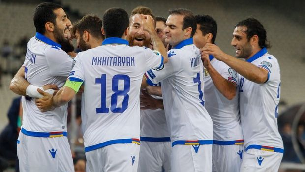Ελλάδα - Αρμενία: Γκολάρα Γκαζαριάν, 0-2 οι φιλοξενούμενοι