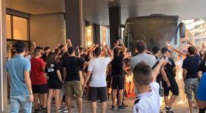 ΠΑΟΚ: Χαμός στο ξενοδοχείο και συνθήματα πρόκρισης