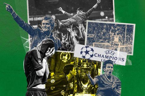 Όσα έζησα σε 12+1 τελικούς Champions League