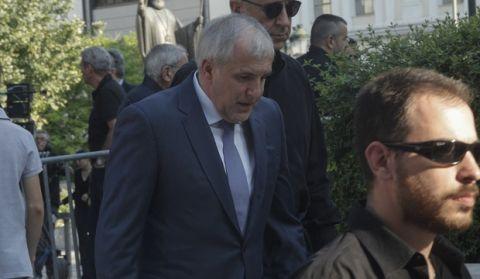 """Δάκρυσε ο Ομπράντοβιτς στο """"αντίο"""" του Παύλου"""