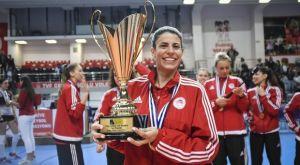 Ολυμπιακός βόλεϊ γυναικών: Ανανέωσε η Κωνσταντινίδου