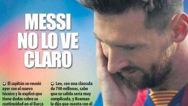 Μπαρτσελόνα: Ο ισπανικός Τύπος για το ενδεχόμενο αποχώρησης Μέσι