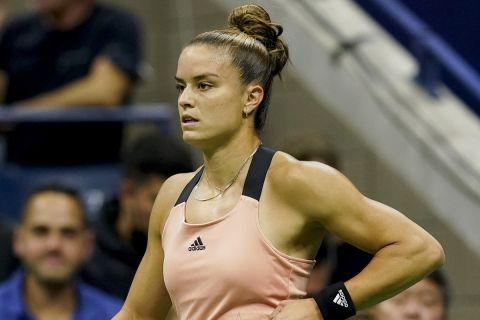 Απογοητευμένη η Μαρία Σάκκαρη για την τροπή του ημιτελικού με την Έμα Ραντουκάνου