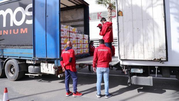 Ολυμπιακός: Παραδίδει τα είδη βοήθειας στους συνοριοφύλακες
