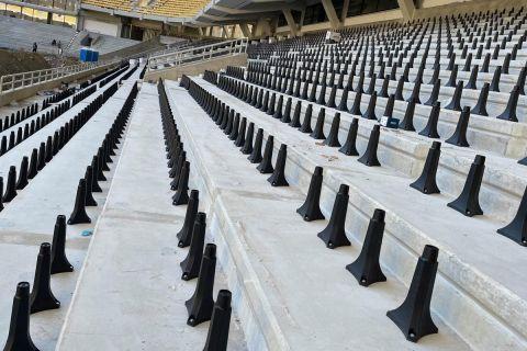 Το κάτω διάζωμα της OPAP Arena