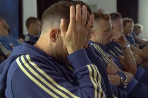 Το κλάμα του Μπεργκ με το video για την εθνική Σουηδίας