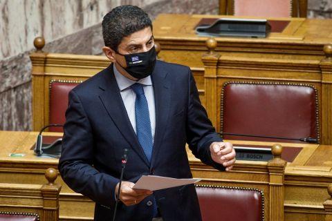 Ο Υφυπουργός Αθλητισμού, Λευτέρης Αυγενάκης