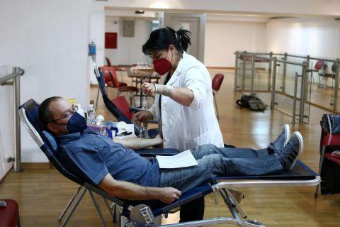 Ολυμπιακός: Απόλυτη ικανοποίηση από την προσέλευση του κόσμου στην εθελοντική αιμοδοσία