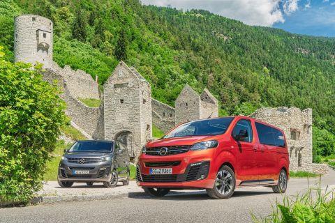 Τα ηλεκτρικά Van της Opel στην κορυφή των Αλπεων