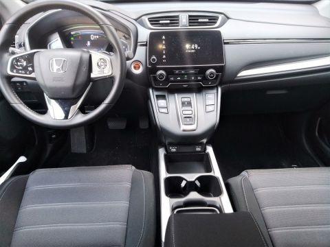 Οι εσωτερικοί χώροι του Honda CR-V e:HEV