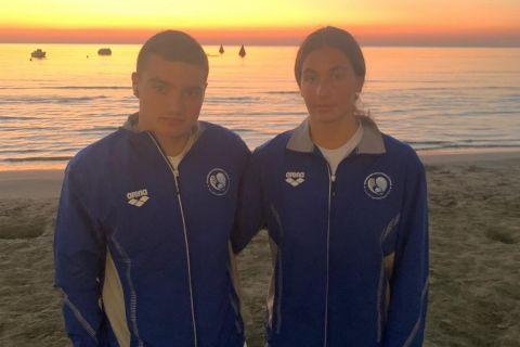 Τέταρτη θέση στα 7,5 χλμ ο Ζαχαριάδης, 10η η Τάτσιου στο Μεσογειακό Κύπελλο ανοικτής θαλάσσης