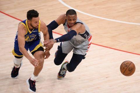 Κάρι και Γουέστμπρουκ οι παίκτες του μήνα στο NBA