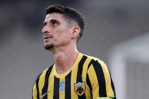 Ο Πέτρος Μάνταλος από το ματς με τη Βελέζ | 29 Ιουλίου 2021