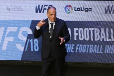 Ο πρόεδρος της La Liga, Χαβιέρ Τέμπας.
