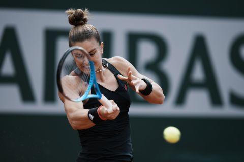 Η Μαρία Σάκκαρη από την αναμέτρηση με την Κένιν στο Roland Garros | 7 Ιουνίου 2021