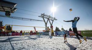 Το πρωτάθλημα snow volley αρχίζει το 2018!