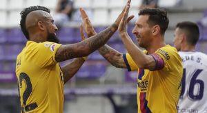 Βαγιαδολίδ – Μπαρτσελόνα 0-1: Μέσι και Βιδάλ την έφεραν στο -1 από την Ρεάλ