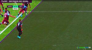 Γουέστ Χαμ – Μάντσεστερ Σίτι: Το πρώτο ακυρωθέν γκολ με VAR στην Premier League
