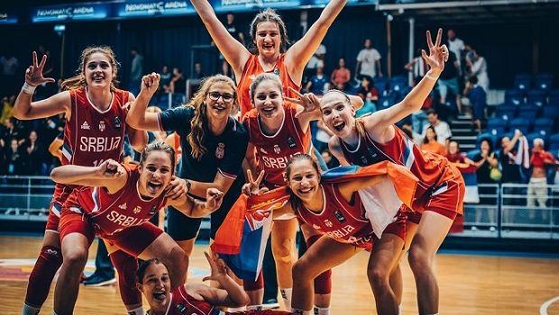 Ευρωμπάσκετ Νεανίδων: Εσπασε το σερί των Γαλλίδων η Σερβία