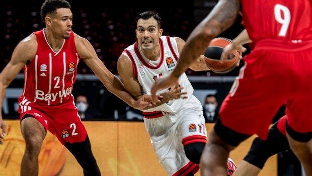 Η κατάταξη της EuroLeague: Έκτος ο Ολυμπιακός, έπιασε κορυφή η Μπάγερν