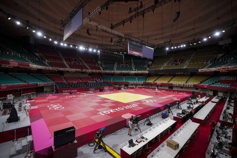 Το κλειστό Nippon Budokan όπου θα γίνουν οι αγώνες τζούντο