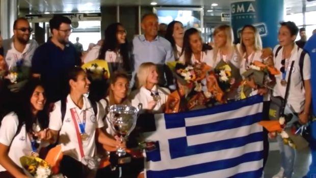 Επέστρεψαν στην Ελλάδα οι Παγκόσμιες πρωταθλήτριες του Beach Handball