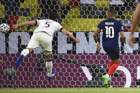 Euro 2020, Γαλλία - Γερμανία: Ο Χούμελς έβαλε μπροστά τους μπλε με αυτογκόλ