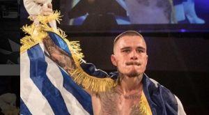 Καμπόσος: «Περήφανος που εκπροσωπώ την Ελλάδα στα ρινγκ όλου του κόσμου»