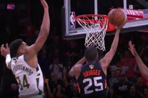 NBA Finals: Με τον Αντετοκούνμπο στο Νο2 και στο Νο3 οι καλύτερες τάπες των τελικών από το 2015 και μετά