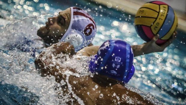 A1 πόλο ανδρών: Μόνος πρώτος ο Ολυμπιακός, 17-5 τον Απόλλωνα