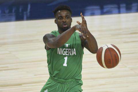 Ο παίκτης της Εθνικής Νιγηρίας