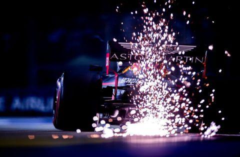 Στιγμιότυπο από αγώνα της Formula 1