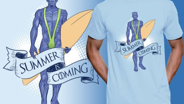Summer is coming και τρέλα για t-shirt