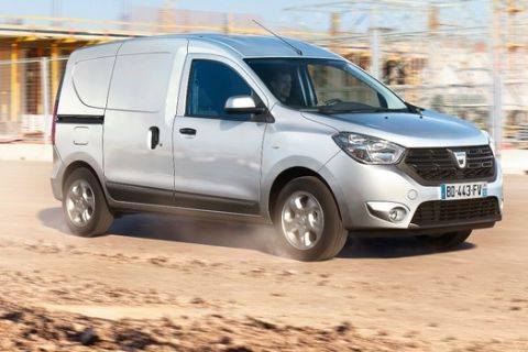 Επαγγελματικό Dacia με μισό ευρώ τη μέρα συντήρηση