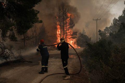 Οι φωτιές στην Ελλάδα | 10 Αυγούστου 2021