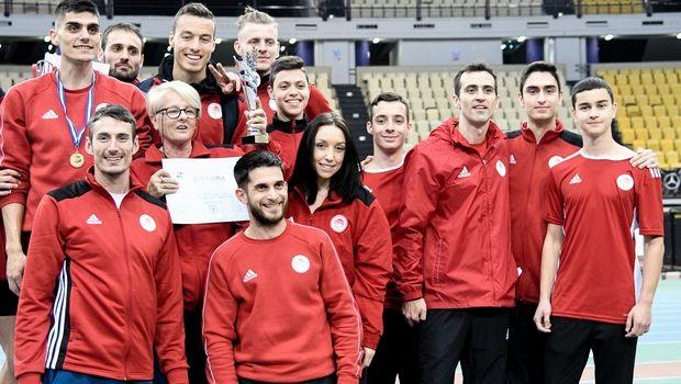 Στίβος: Πρωταθλητής στους άνδρες ο Ολυμπιακός, στις γυναίκες ο ΓΣ Κηφισιάς