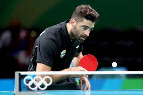 Ο Παναγιώτης Γκιώνης στους Ολυμπιακούς Αγώνες του Ρίο το 2016