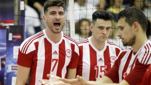 Στον τελικό κι ο Ολυμπιακός, 3-0 τον Φοίνικα Σύρου