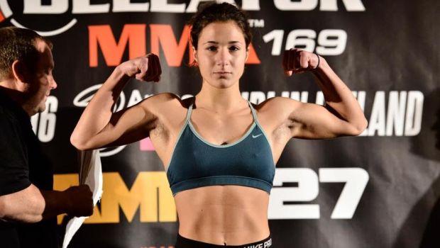 Πρωταγωνίστρια στο επίσημο poster του Bellator η Καλλιονίδου