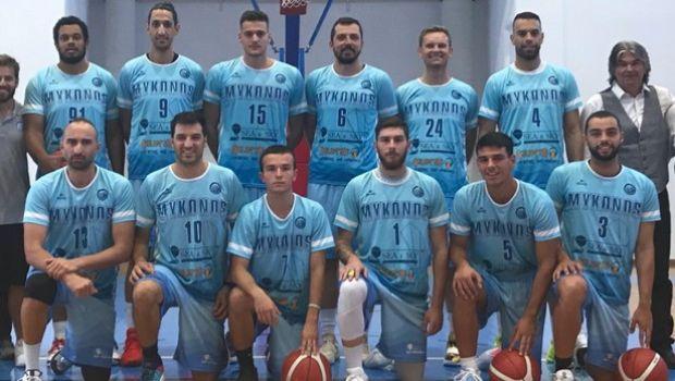 Γ' Εθνική Μπάσκετ: Γιορτάζει η Μύκονος, παραλίγο 100άρα στο πρώτο εντός έδρας ματς της